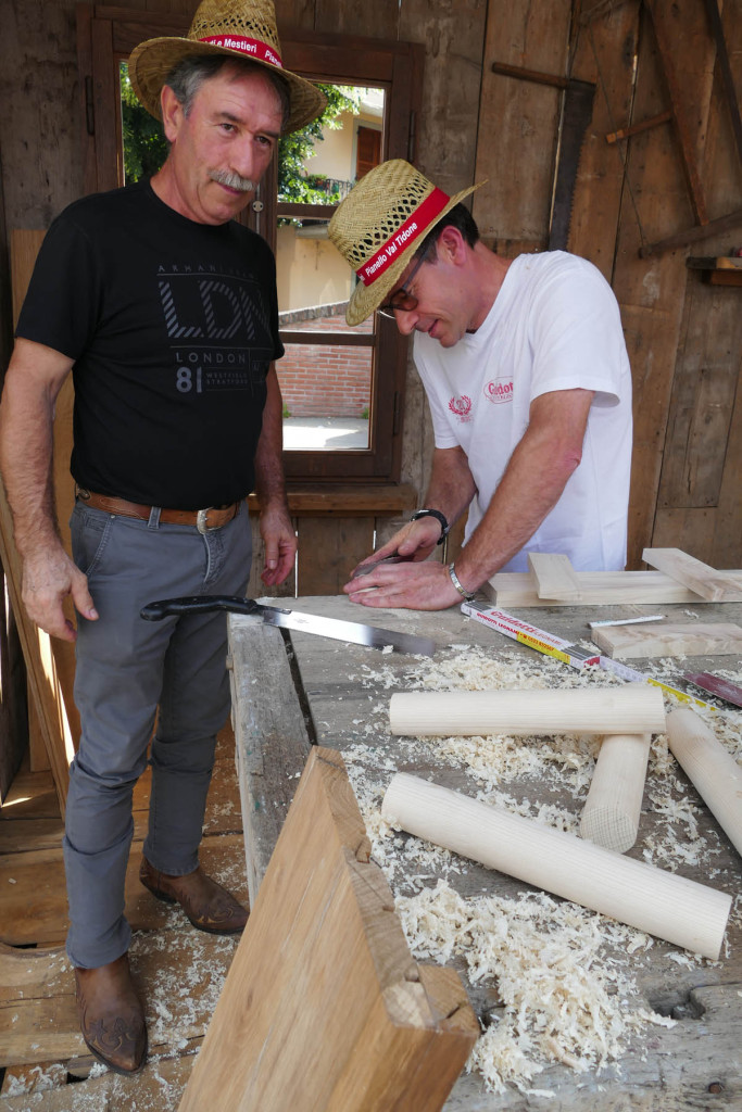 Fiera delle arti e dei mestieri - il falegname