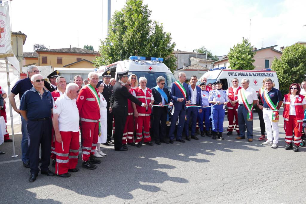 Fiera delle arti e dei mestieri - I volontari della Croce Rossa Italiana