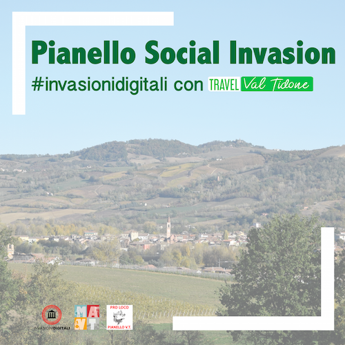 Pianello Social Invasion: #InvasioniDigitali con Travel Val Tidone