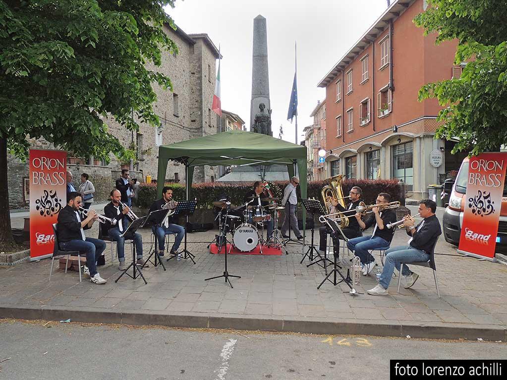ESIBIZIONE MUSICALE DEGLI ORION BRASS DI BORGONOVO
