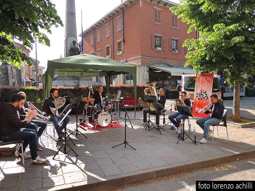 ESIBIZIONE MUSICALE DEGLI ORION BRASS